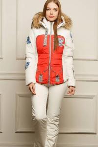 купить лыжную куртку bogner красного цвета интернет магазин в Москве Питере
