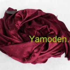купить платок луи виттон бордового цвета люксовая копия