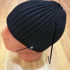 Шапка Богнер мужская черного цвета