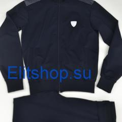 Мужской спортивный костюм EA7 в синем цвете