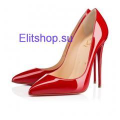 Туфли лодочки Christian Louboutin красного цвета