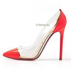 купить туфли женские кристиан лабутен прозрачные с мыском