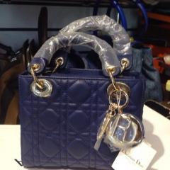 купить женскую сумочку dior lady из натуральной кожи