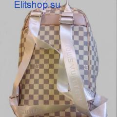 купить рюкзак женский louis vuitton белого цвета интернет магазин в Москве