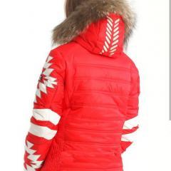 Женский горнолыжный костюм Bogner красный
