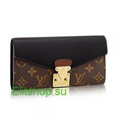 Кошелек женский Louis Vuitton Pallas Wallet Lux Noir