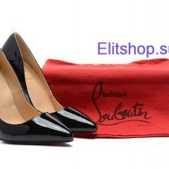 Туфли лодочки Christian Louboutin черного цвета