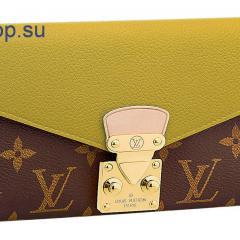 купить женский кошелек Louis Vuitton комбинированный