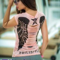 женская футболка с крыльями купить в москве недорого