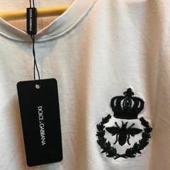 Футболка мужская Dolce Gabbana белого цвета