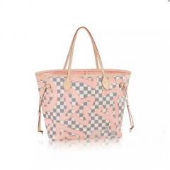купить сумку Louis Vuitton Neverfull MM   интернет магазин в Москве