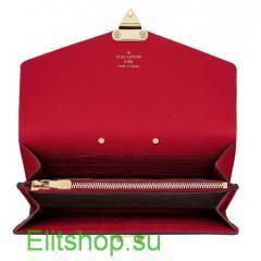 Кошелек женский Louis Vuitton Pallas Wallet Lux Cherry