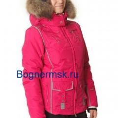 Горнолыжный женский костюм Bogner розового цвета