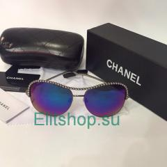 Очки женские Chanel со стразами