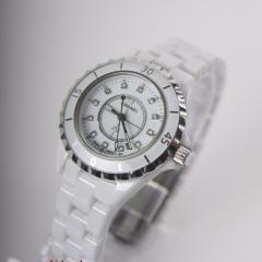купить женские часы шанель керамика белого цвета
