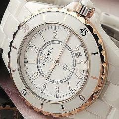 копии брендовых часов Chanel керамика