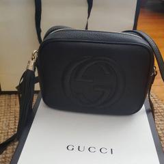 Клатч Gucci из натуральной кожи