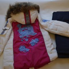 Горнолыжный женский костюм Bogner с лебедями