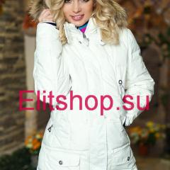 купить белый пуховик Bogner женский интернет магазин в москве