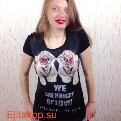 купить модную женскую футболку филипп плейн в интернет магазине