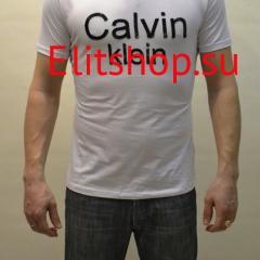 Футболка Calvin Klein мужская белого цвета