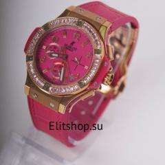 купить женские часы Hublot с хронографом в инетрент магазине