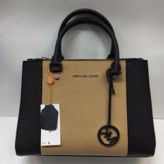 купить комбинированную сумку michael Kors из кожи
