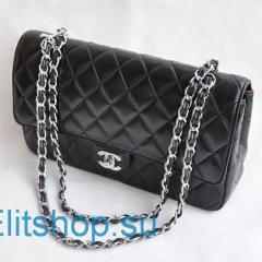 купить сумку Chanel из натуральной кожи