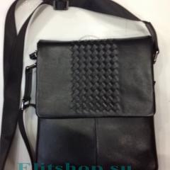 Мужская сумка Bottega Veneta из натуральной кожи