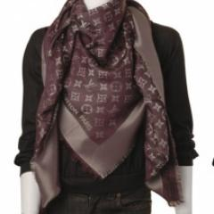 купить платок louis vuitton шоколадного цвета интернет магазин