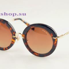 купить круглые очки в леопардовом цвете очки miu miu купить