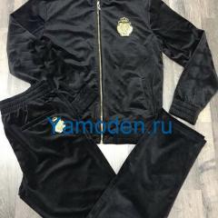 купить мужской черный велюровый костюм недорого интернет магазин в Москве