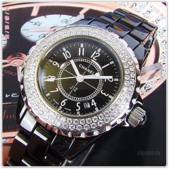 купить часы Chanel из керамики