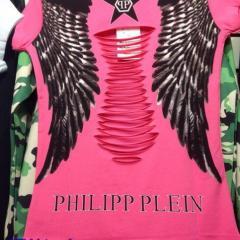 купить футболку сзади крылья недорого