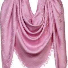 женский палантин розового цвета купить