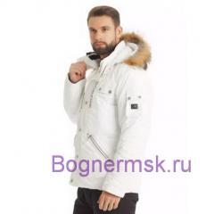 мужской горнолыжный костюм Bogner белого цвета