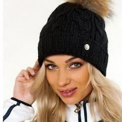 купить шапку bogner черного цвета