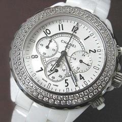 купить часы Chanel керамика с хронографом интернет магазин