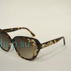 купить очки dolce gabbana леопардового цвета в интернет магазине